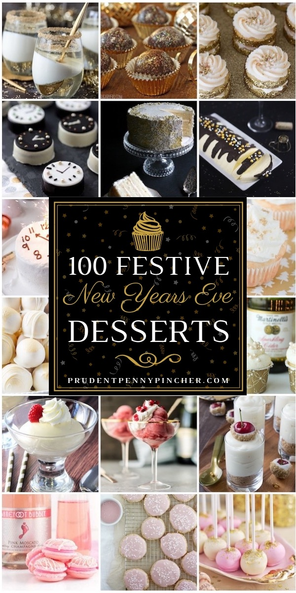 100 Festive New Years Eve Desserts