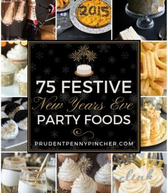 75 Festive New Years Eve Party Foods