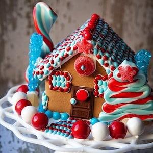 Patriotic Gingerbread House idea