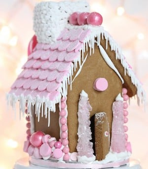 Pink Gingerbread House idea