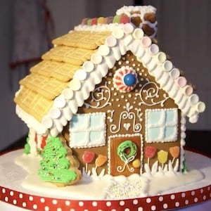 Royal Icing Gingerbread House