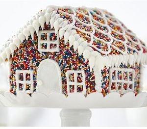 Sprinkle Gingerbread House