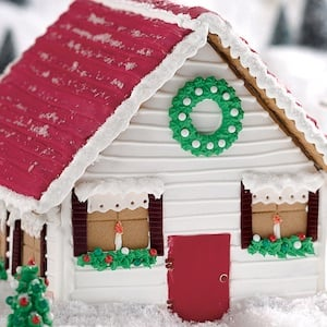 Vermont Gingerbread House