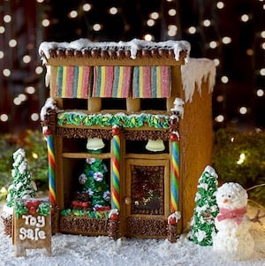 Gingerbread Victorian Store Front