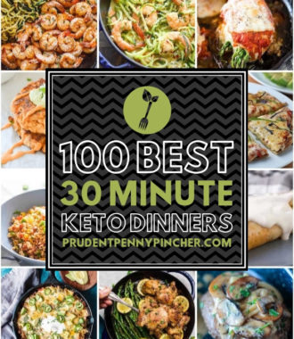 100 Best 30 Minute Keto Dinner Recipes