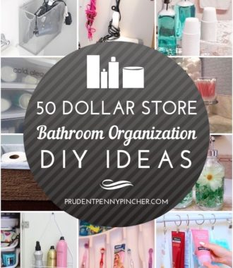 50 Dollar Store Bathroom Organization Ideas