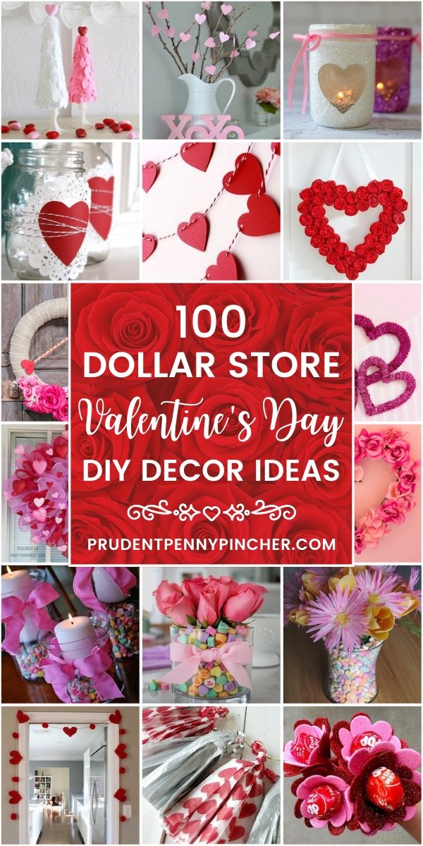100 Dollar Store Valentine S Day Decorations Prudent Penny Pincher