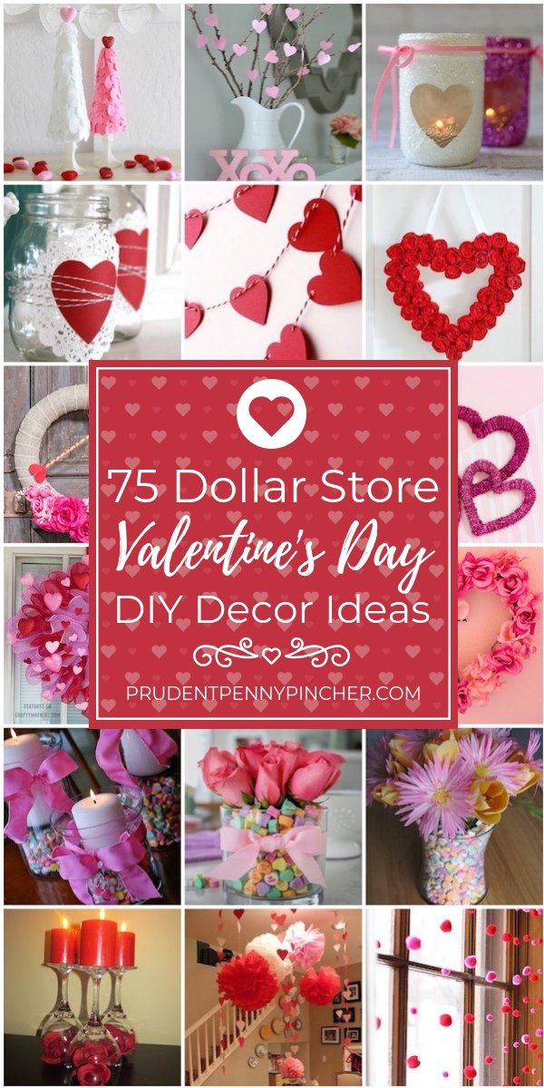 75 Dollar Store Valentine's Day Decor Ideas
