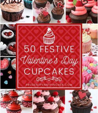 50 Festive Valentine's Day Cupcakes