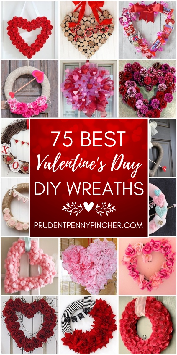75 Best DIY Valentine's Day Wreaths