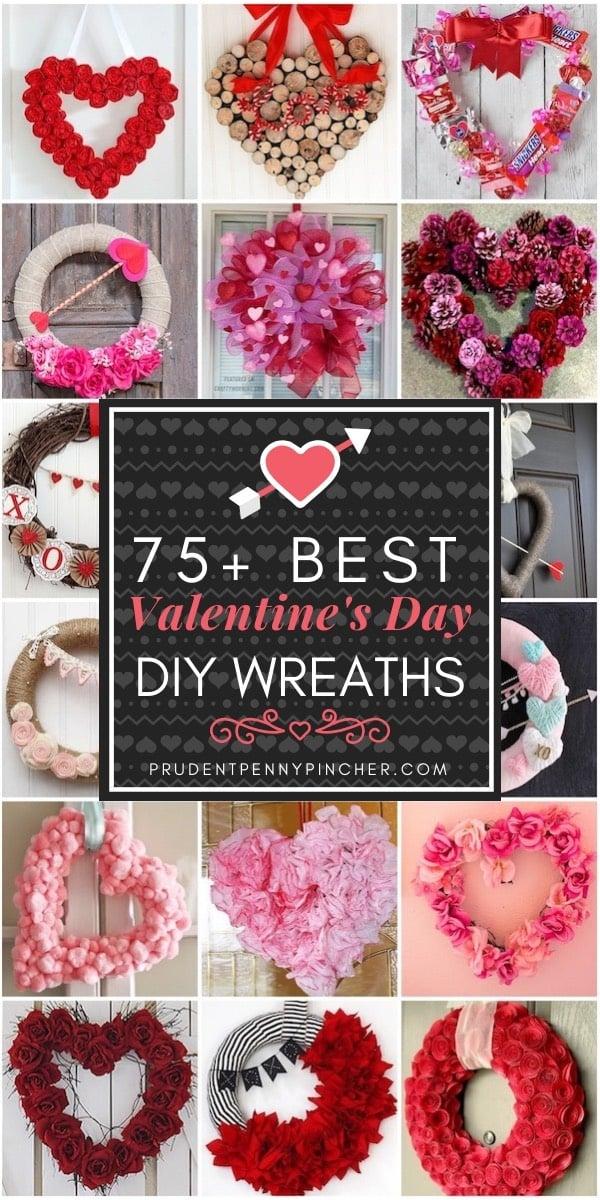 75 Best Diy Valentine S Day Wreaths Prudent Penny Pincher