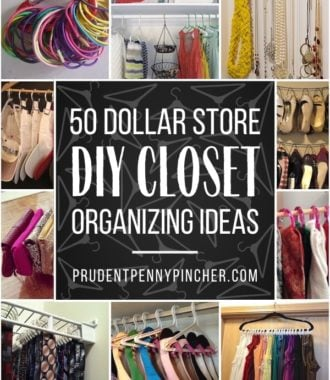50 DIY Dollar Store Closet Organization Ideas