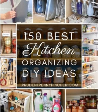 150 Best DIY Kitchen Organization Ideas