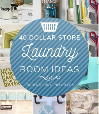 40 Dollar Store Laundry Room Ideas