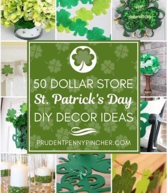 50 Dollar Store St Patrick's Day Decor Ideas