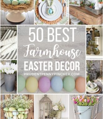 50 Best Farmhouse Easter Decor Ideas