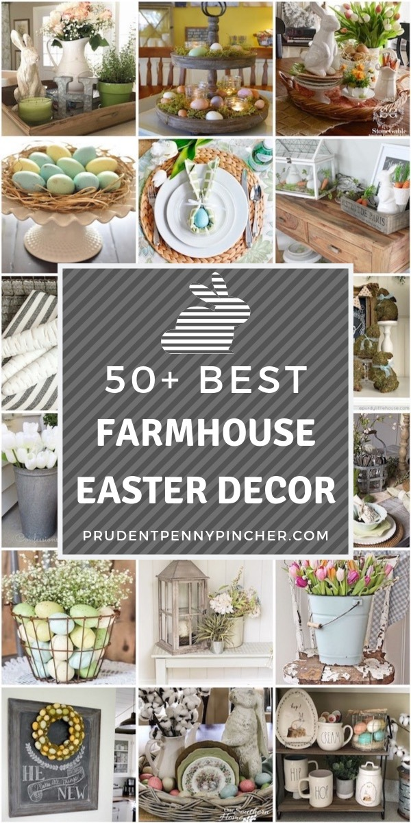 50 Farmhouse Easter Decorations