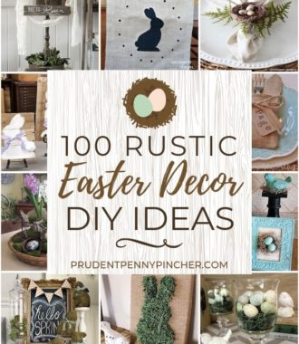 100 DIY Rustic Easter Decorations