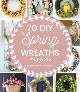70 Best DIY Spring Wreaths