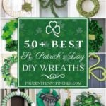 50 Best DIY St Patrick's Day Wreaths