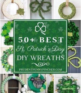 50 Best DIY St Patrick's Day Wreaths