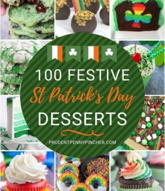 100 Festive St Patrick's Day Desserts