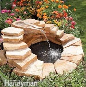 DIY Concrete Fountain