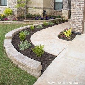 Front Yard Landscaping idea for walkway