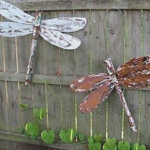 100 Creative Diy Garden Art Ideas Prudent Penny Pincher