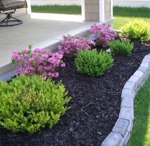 Easy Front Porch Landscaping