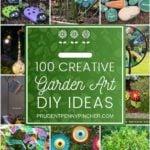 100 Creative DIY Garden Art Ideas