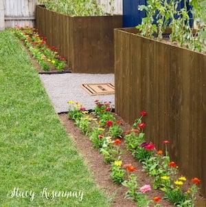 Planter Box Fence
