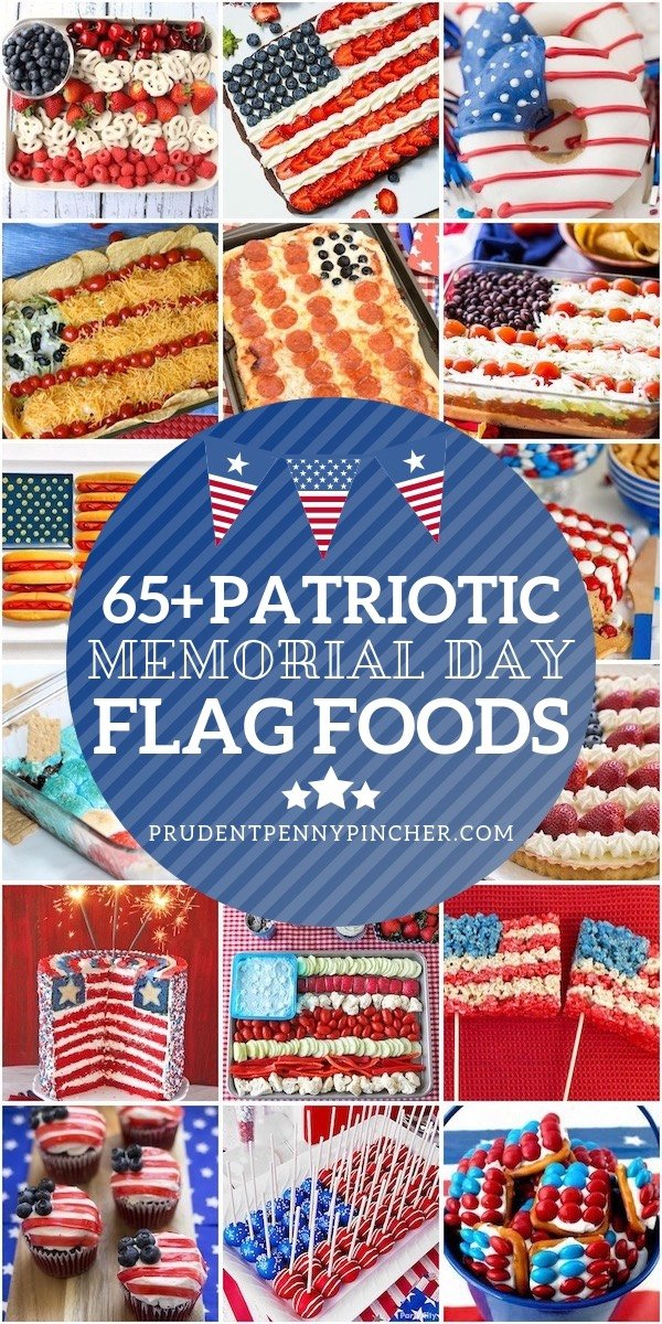 65 Patriotic Flag Memorial Day Food Ideas