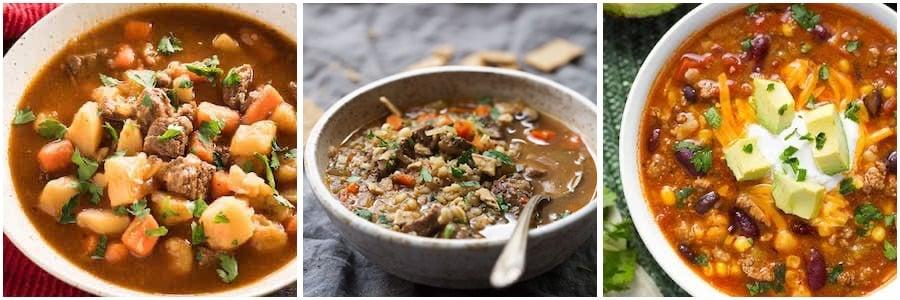 instant pot beef soup recipes