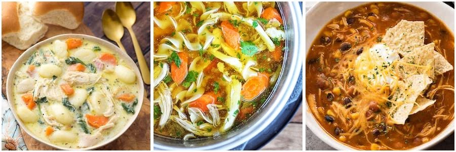 instant pot chicken soups