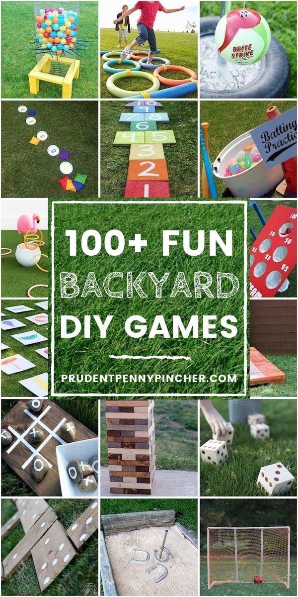 100 Fun DIY Backyard Games