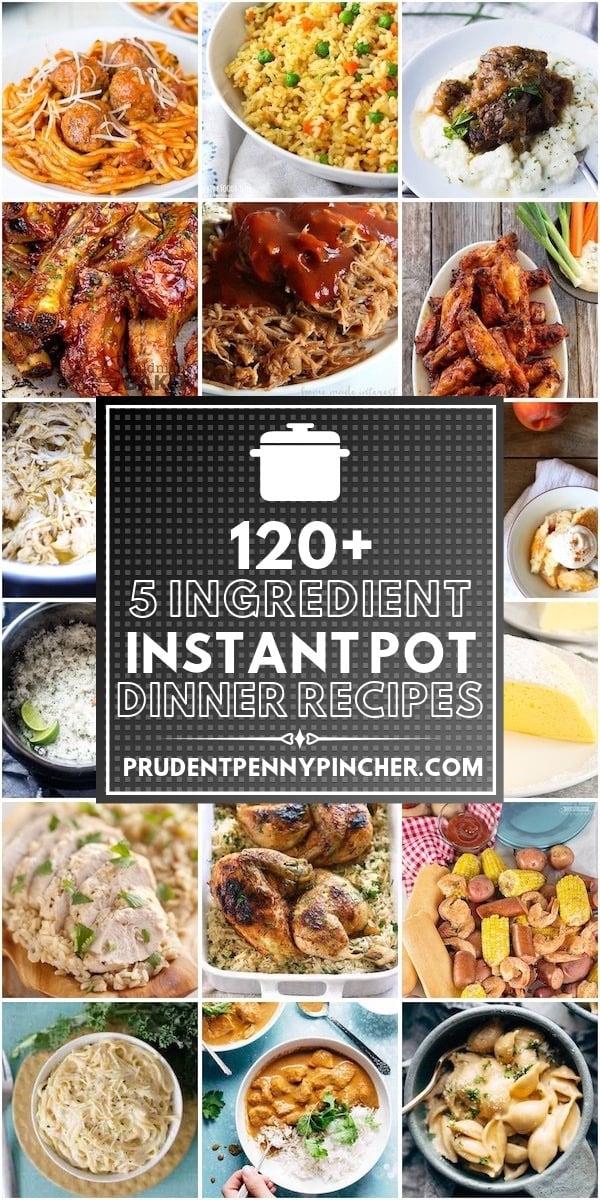 120 5 Ingredient Instant Pot Recipes