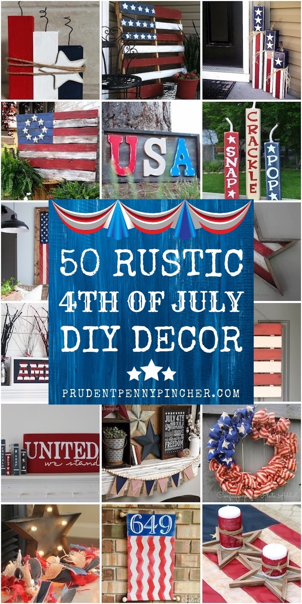 50 Rustic 4th of July Decorations