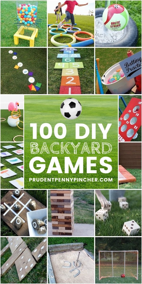 100 Fun Diy Backyard Games Prudent Penny Pincher