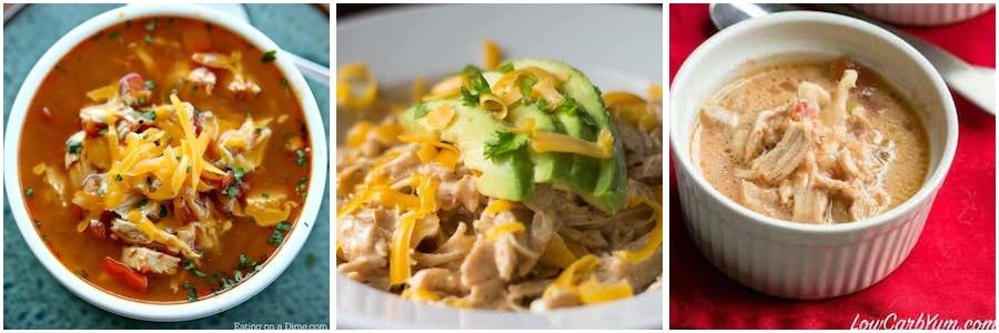 slow cooker mexican chicken keto recipes