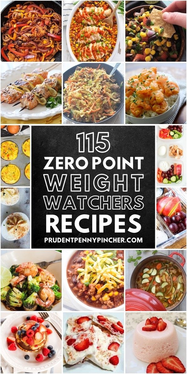 115 Zero Point Weight Watchers Recipes