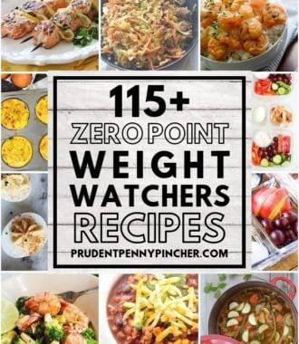 115 Zero Point Weight Watchers Meals