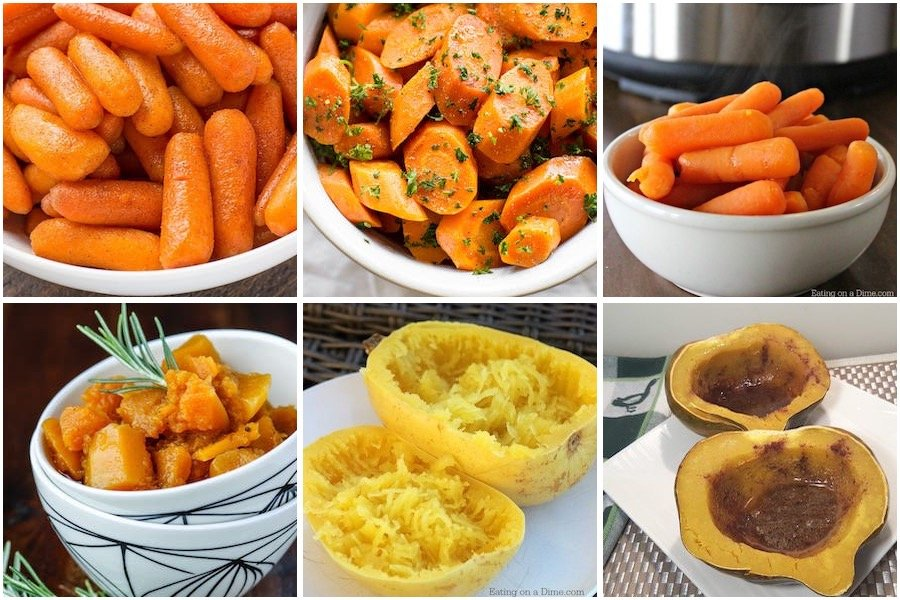 carrots and squash fall side dishes for the instant pot