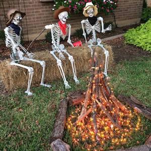 Campfire Cowboy Skeletons