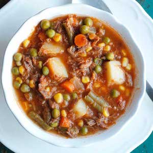 Mom's Old Fashioned Vegetable Beef Soup