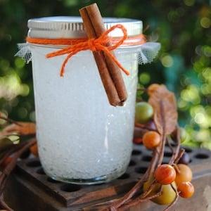 Cinnamon Orange Mason Jar Air Freshner