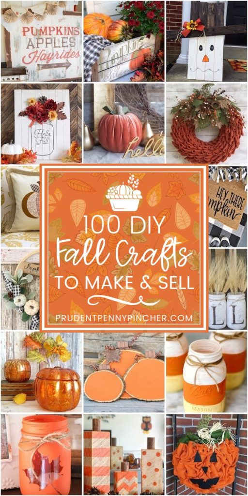 100 Diy Fall Crafts To Make And Sell Prudent Penny Pincher