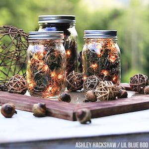 Fall Firefly Lanterns