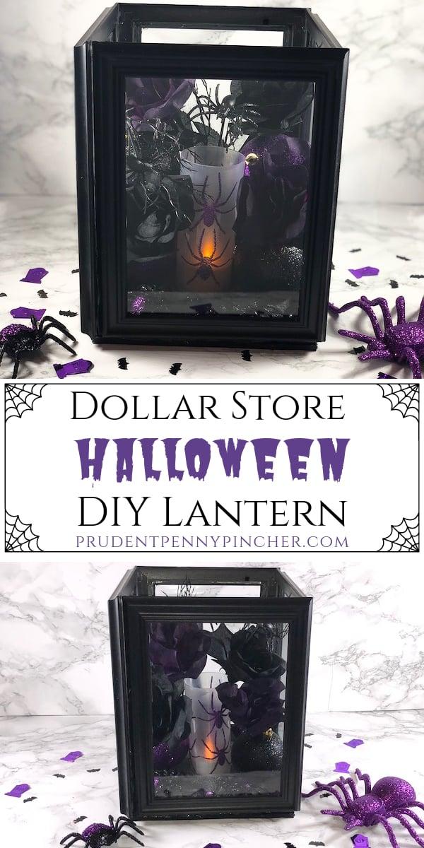 Dollar Store Halloween DIY Lantern