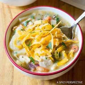 Healthy Chicken Potato Soup